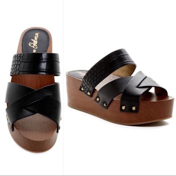 91fe8c725806f Sam Edelman Bane Platform Slide Sandals 8.5. M 5c3c21c103087cbe68e1ff0f